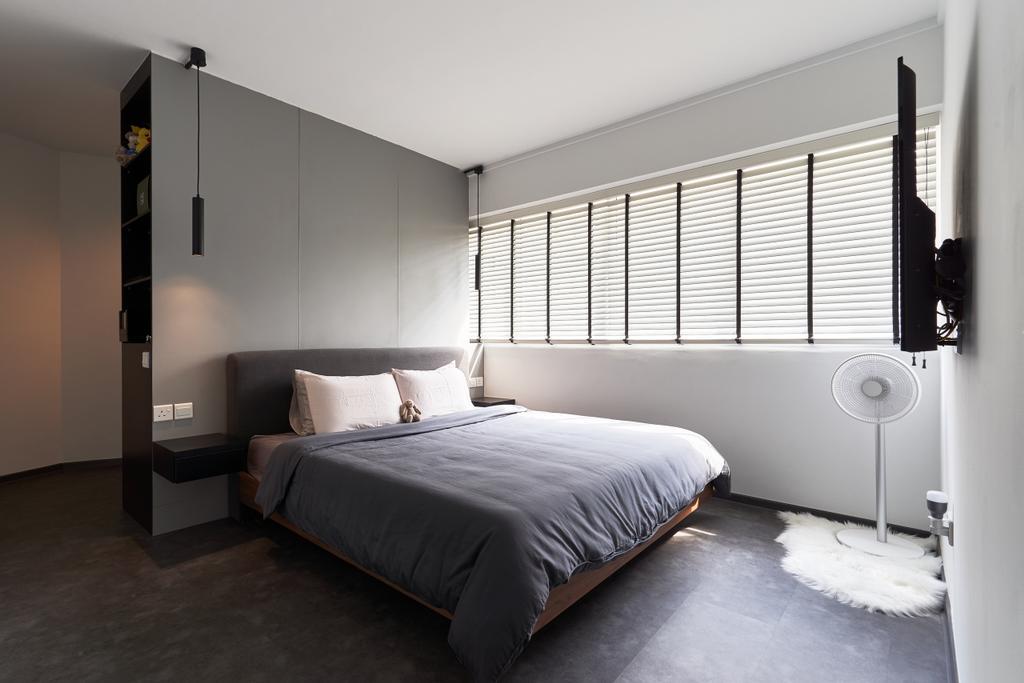 Contemporary, HDB, Bedroom, Teck Whye Lane, Interior Designer, Colourbox Interior