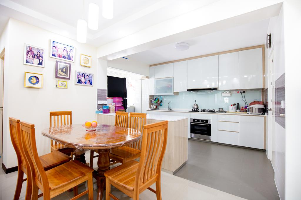 Contemporary, HDB, Dining Room, Woodlands Street 13, Interior Designer, Laurus Design