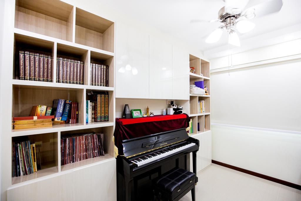 Contemporary, HDB, Study, Woodlands Street 13, Interior Designer, Laurus Design