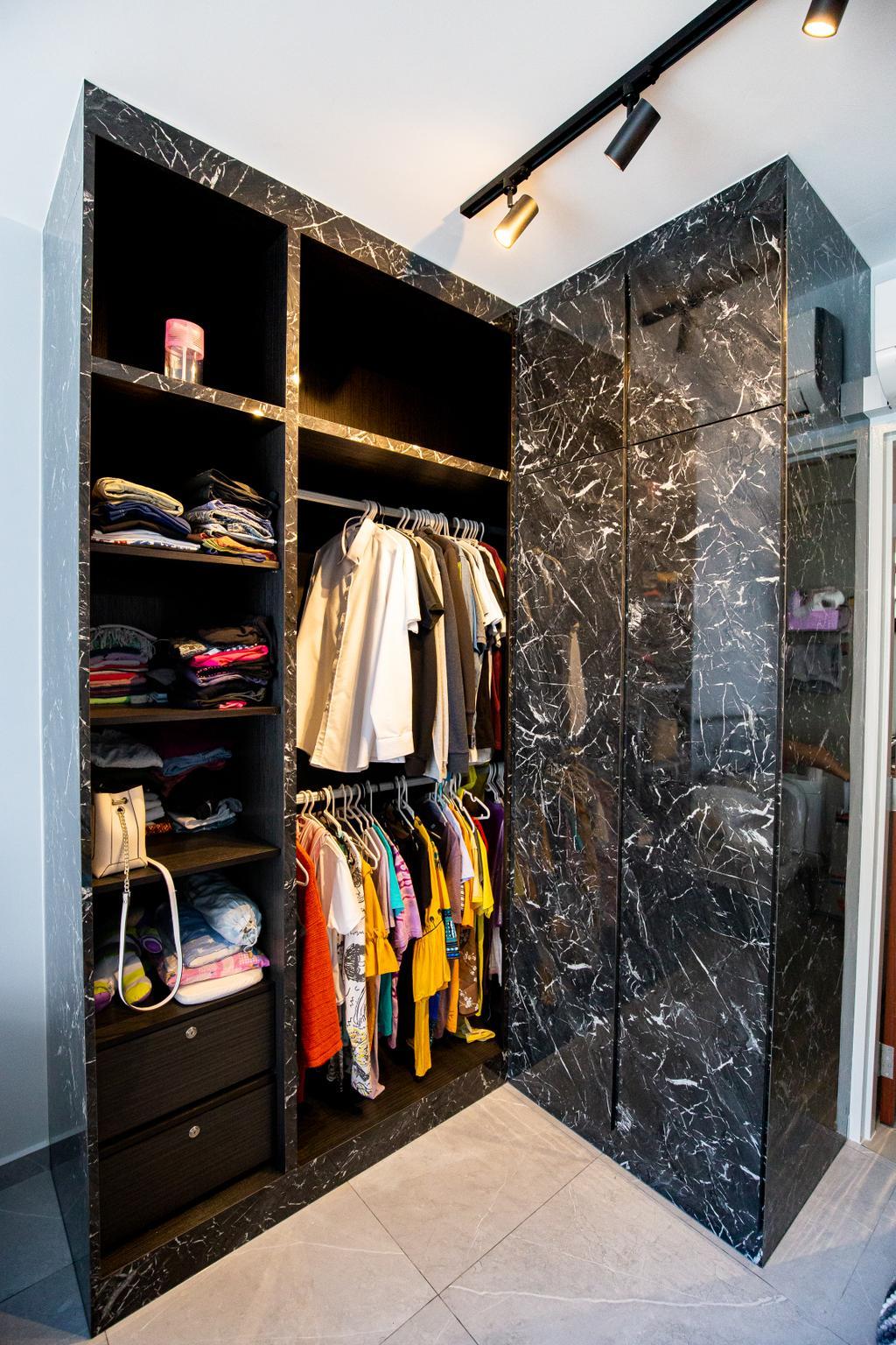 Contemporary, HDB, Tampines Street 61, Interior Designer, Laurus Design