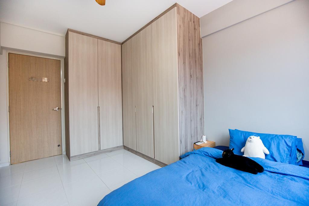 Minimalistic, HDB, Bedroom, Tampines Street 45, Interior Designer, Laurus Design