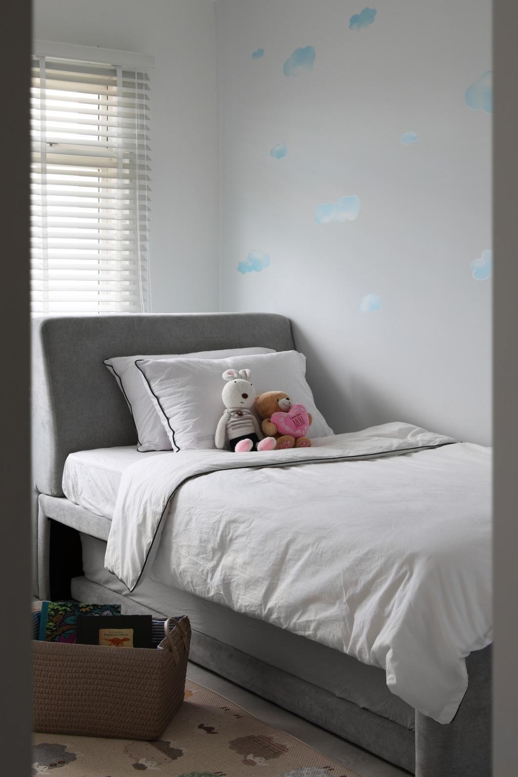 Minimalistic, HDB, Bedroom, Upper Boon Keng Road, Interior Designer, Briey Interior, Scandinavian