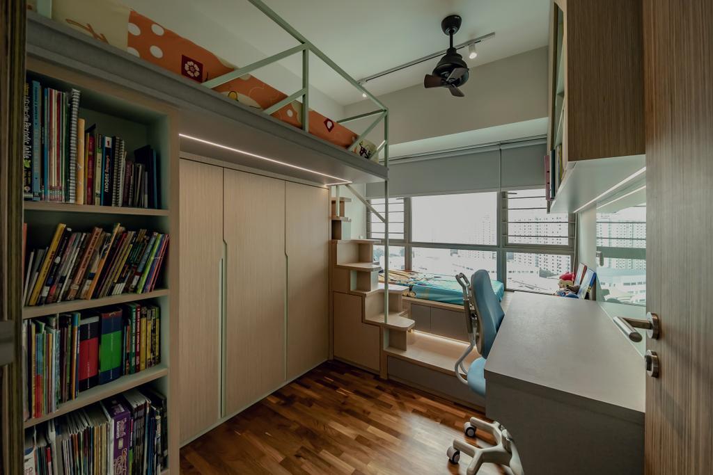 Contemporary, Condo, Study, Trevista, Interior Designer, Space Atelier
