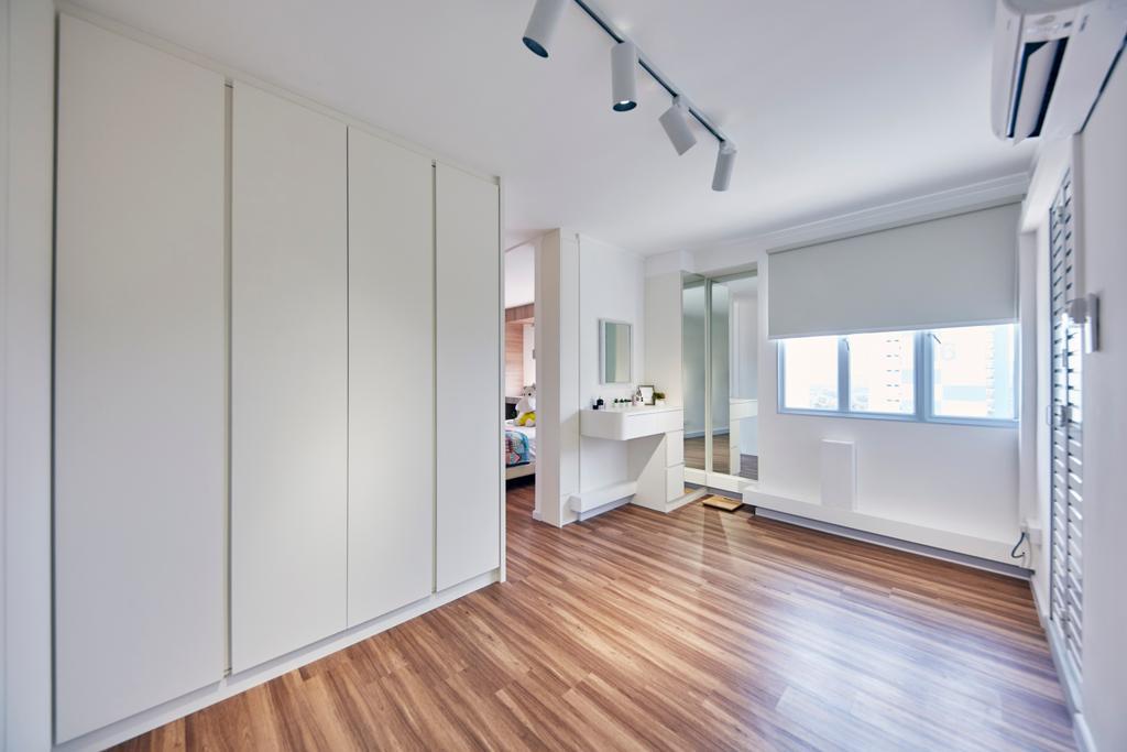 Modern, HDB, Bedroom, Upper Boon Keng Road, Interior Designer, The Interior Lab, Minimalistic