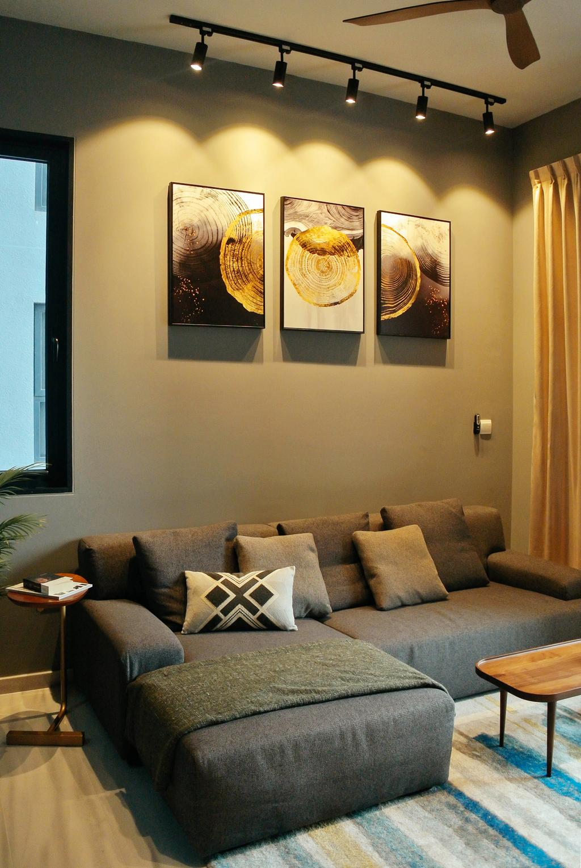 Contemporary, Condo, Living Room, Cube 8, Interior Designer, Regiis Design