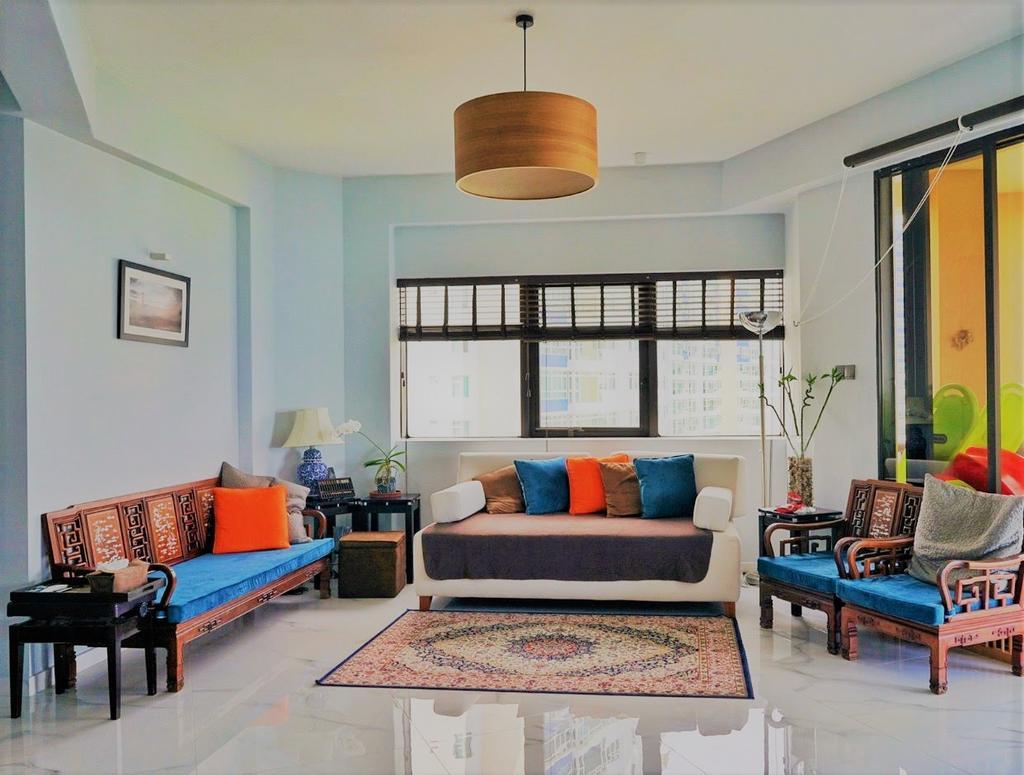 Eclectic, Condo, Living Room, Bayshore, Interior Designer, Regiis Design