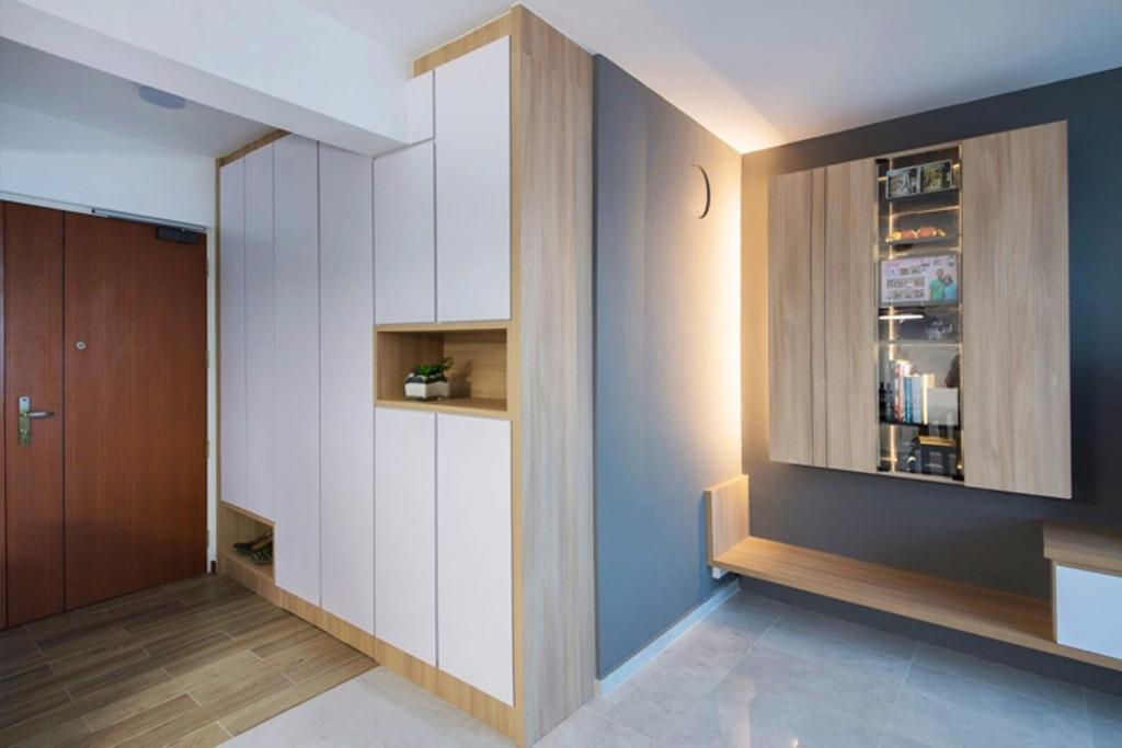 Modern, HDB, Living Room, Clementi Ridges, Interior Designer, Regiis Design