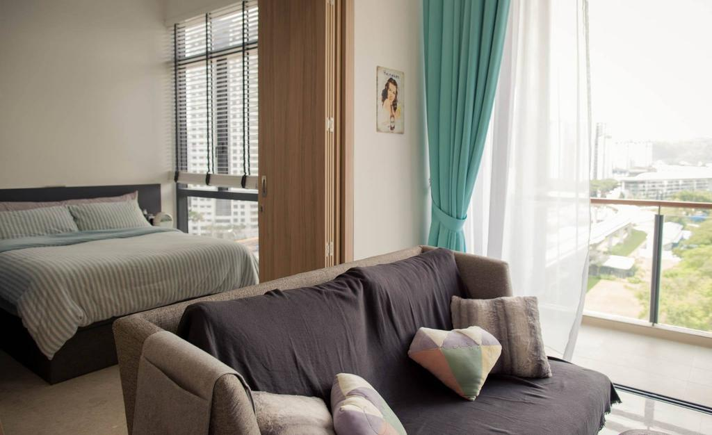 Modern, Condo, Living Room, The Tennery, Interior Designer, Regiis Design