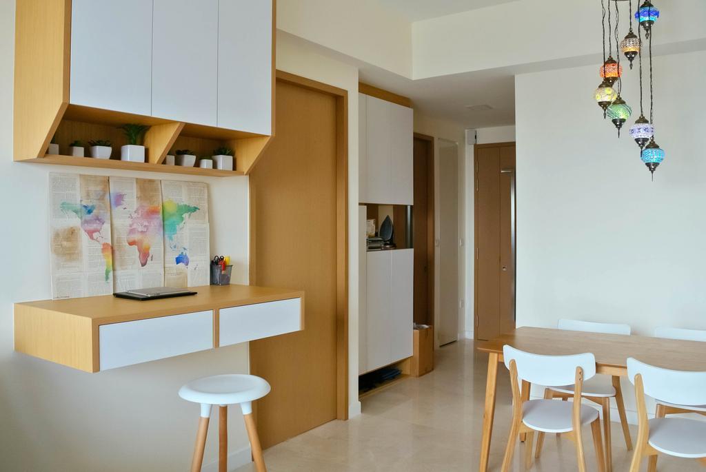 Minimalistic, Condo, Living Room, Alex Residences, Interior Designer, Regiis Design