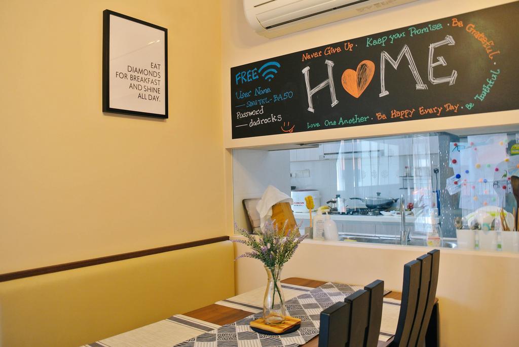 Contemporary, HDB, Dining Room, Clementi Avenue 3, Interior Designer, Regiis Design