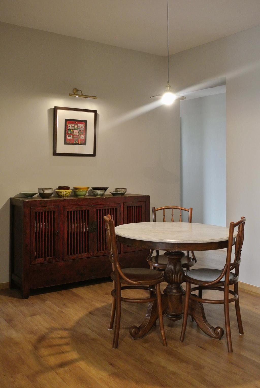 Transitional, Condo, Dining Room, Bullion Park, Interior Designer, Regiis Design
