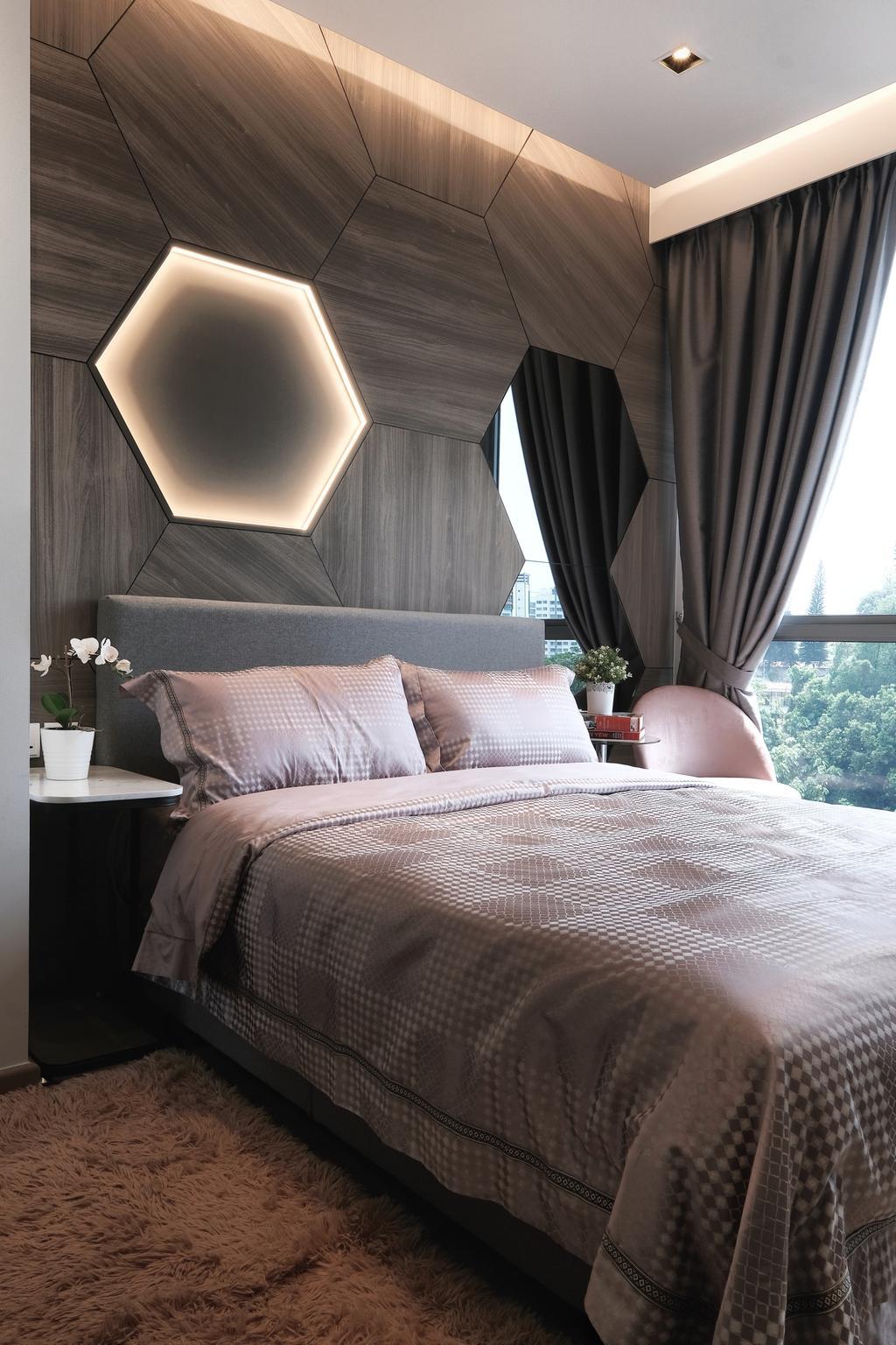 Modern, Condo, Bedroom, Visionaire, Interior Designer, United Team Lifestyle