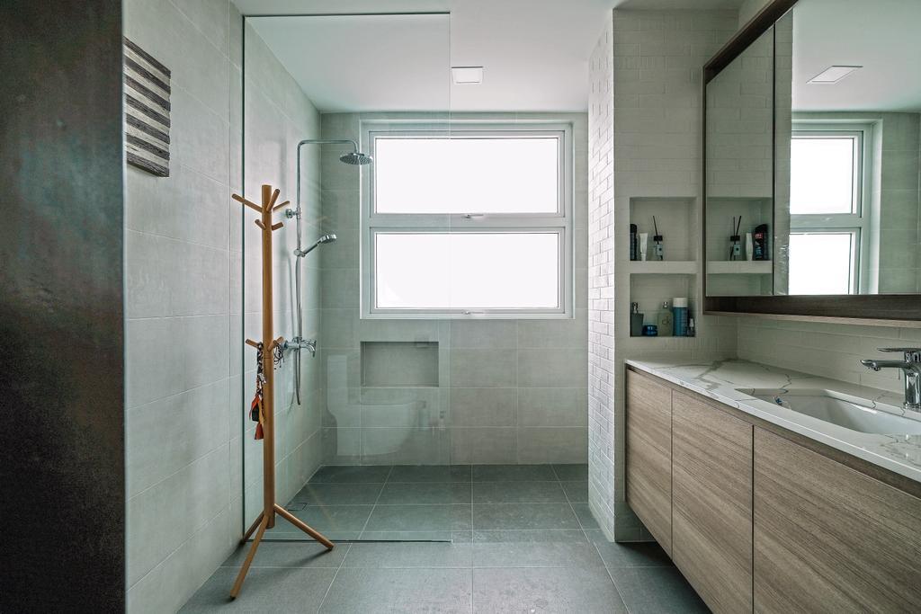 Contemporary, Landed, Bathroom, Jalan Resak, Interior Designer, United Team Lifestyle