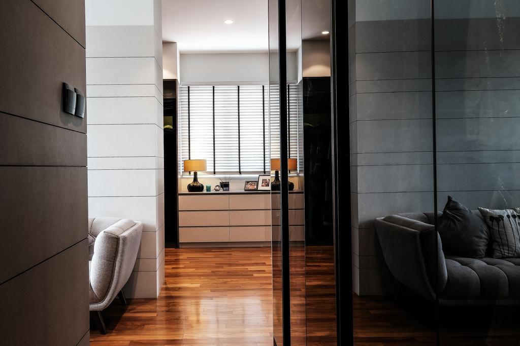 Contemporary, Landed, Bedroom, Jalan Resak, Interior Designer, United Team Lifestyle