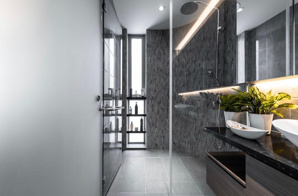 Contemporary, Condo, Bathroom, Double Bay Residences, Interior Designer, The Orange Cube