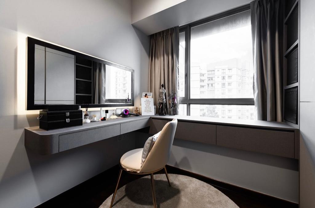 Contemporary, Condo, Study, Double Bay Residences, Interior Designer, The Orange Cube