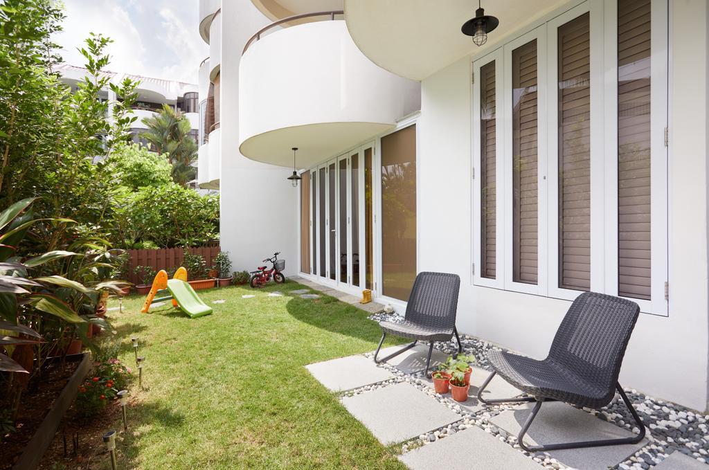 Scandinavian, Condo, Balcony, The Windsor, Interior Designer, Design 4 Space