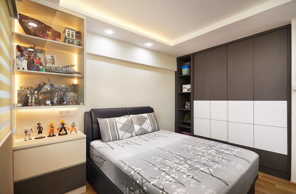 Contemporary, HDB, Bedroom, Jurong East Avenue 1, Interior Designer, Design 4 Space