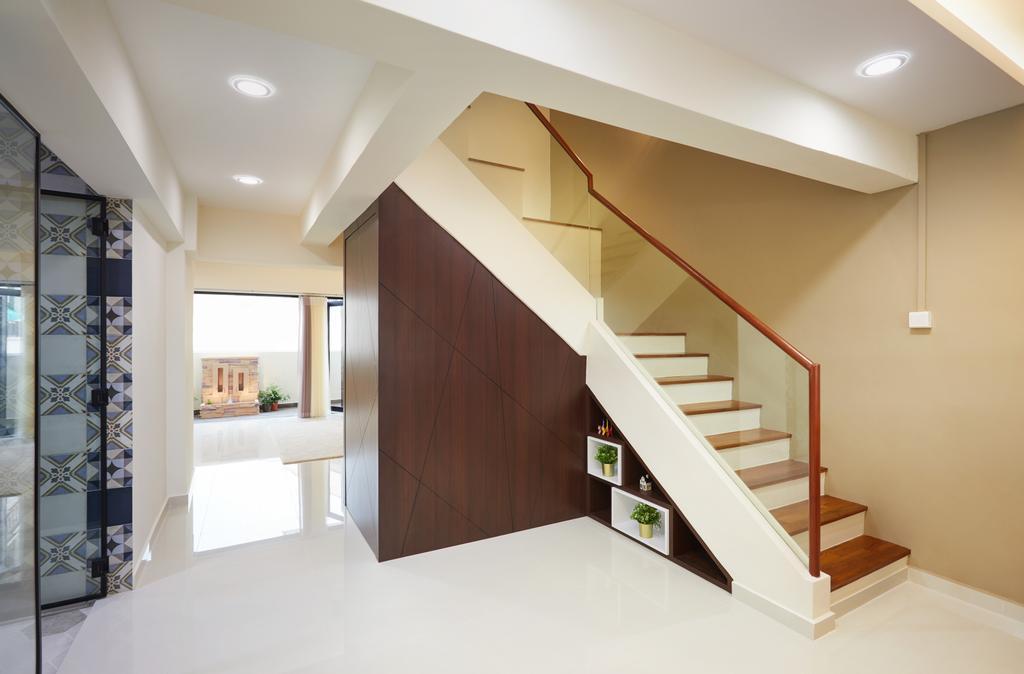 Contemporary, HDB, Jurong East Avenue 1, Interior Designer, Design 4 Space