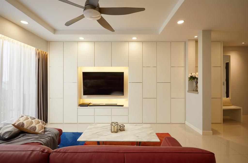Contemporary, HDB, Anchorvale Crescent, Interior Designer, Design 4 Space