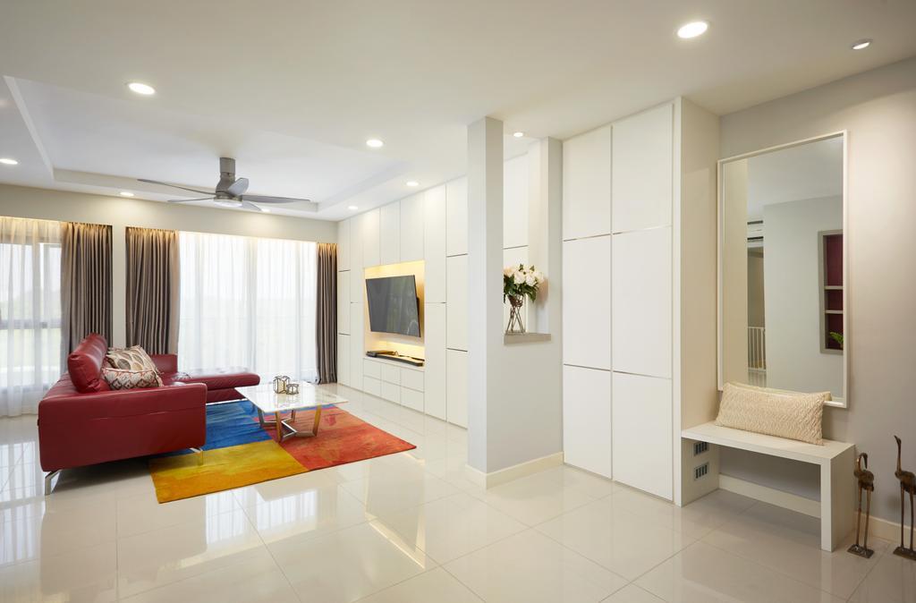Contemporary, HDB, Living Room, Anchorvale Crescent, Interior Designer, Design 4 Space