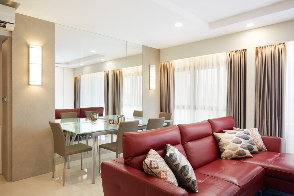 Contemporary, HDB, Dining Room, Anchorvale Crescent, Interior Designer, Design 4 Space