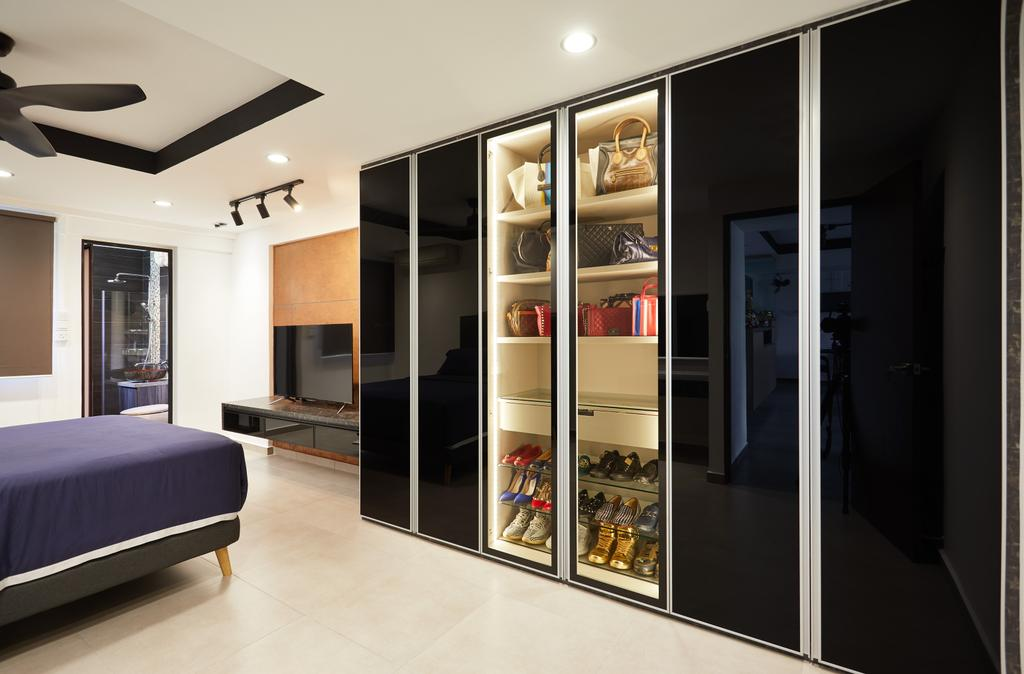 Contemporary, HDB, Bedroom, Bishan Street 13, Interior Designer, Design 4 Space