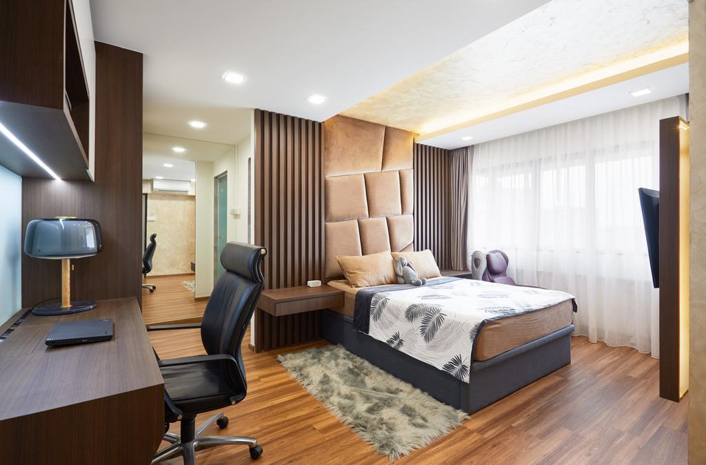 Contemporary, HDB, Bedroom, Pasir Ris Drive, Interior Designer, Design 4 Space