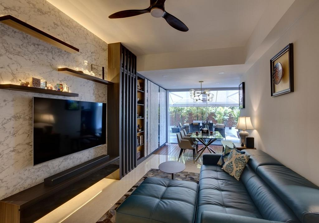 Contemporary, Condo, Living Room, St. Patrick's Road, Interior Designer, Space Factor