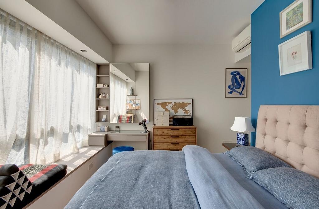 Contemporary, Condo, Bedroom, St. Patrick's Road, Interior Designer, Space Factor