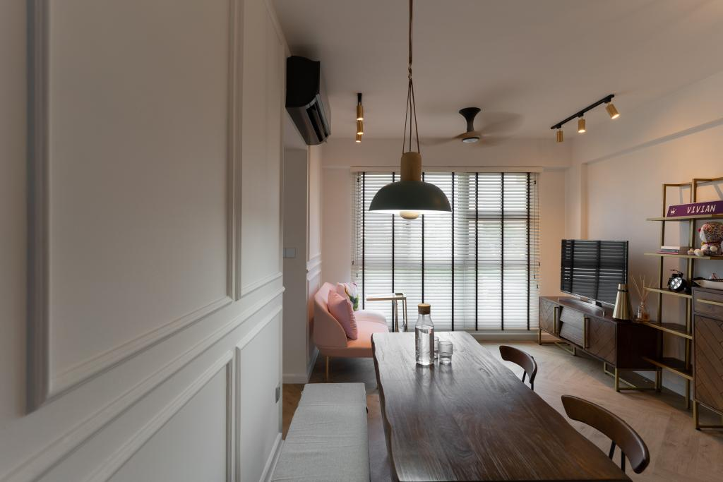 Contemporary, HDB, Commonwealth Drive, Interior Designer, Arche Interior