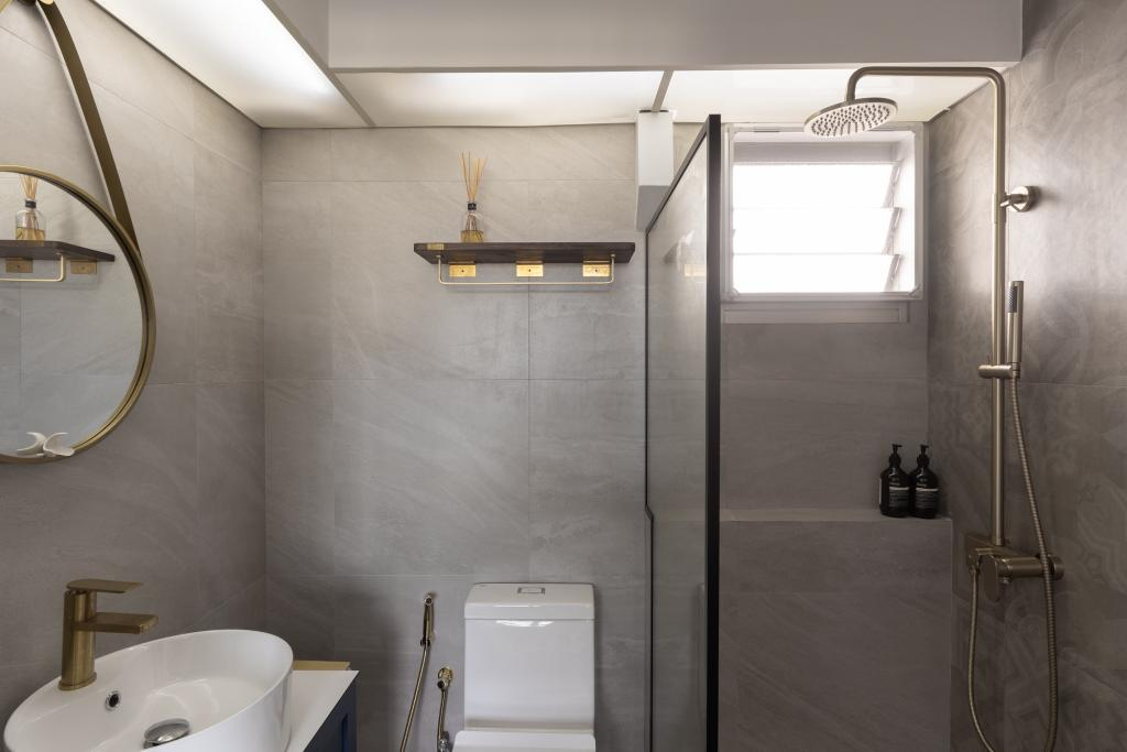 Contemporary, HDB, Bathroom, Commonwealth Drive, Interior Designer, Arche Interior