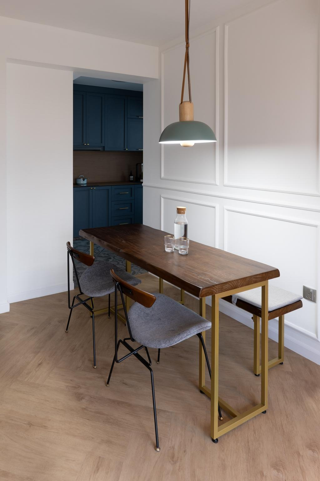 Contemporary, HDB, Dining Room, Commonwealth Drive, Interior Designer, Arche Interior