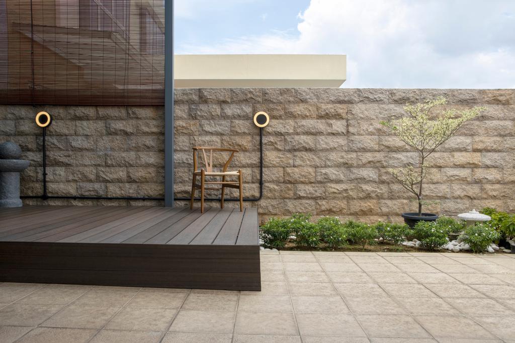 Contemporary, Landed, Balcony, Chuan View Terrace, Interior Designer, Briey Interior, Transitional