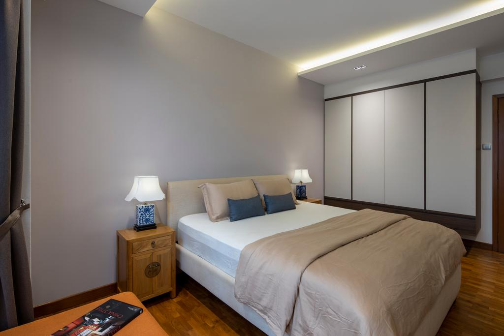 Contemporary, Landed, Bedroom, Chuan View Terrace, Interior Designer, Briey Interior, Transitional
