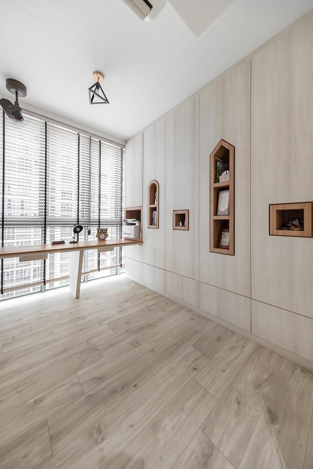 Modern, Condo, Bedroom, Sol Acres, Interior Designer, Noble Interior Design