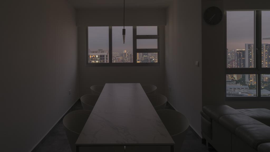 Modern, Condo, Dining Room, Toa Payoh Crest, Interior Designer, Arche Interior