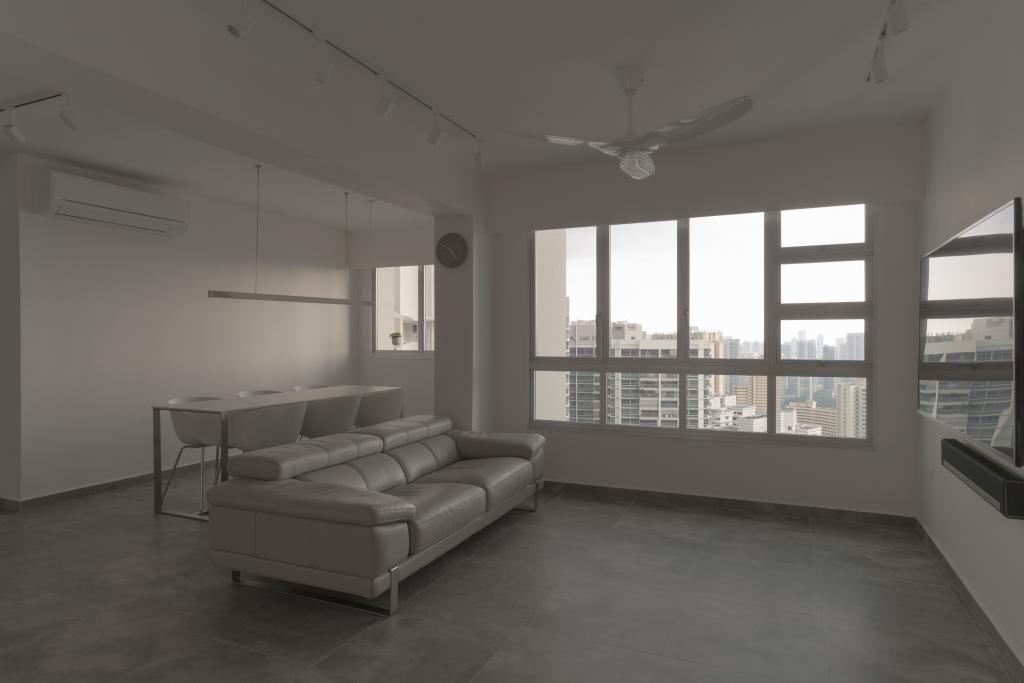 Modern, Condo, Living Room, Toa Payoh Crest, Interior Designer, Arche Interior