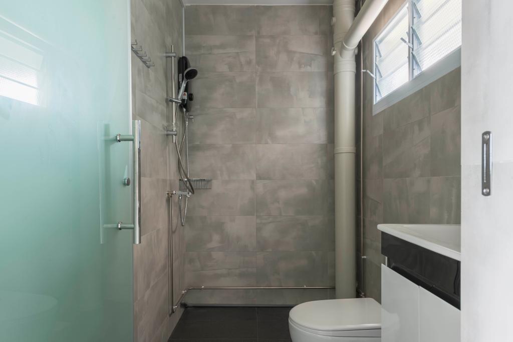 Scandinavian, HDB, Bathroom, Serangoon Avenue 4, Interior Designer, INCLOVER DESIGN