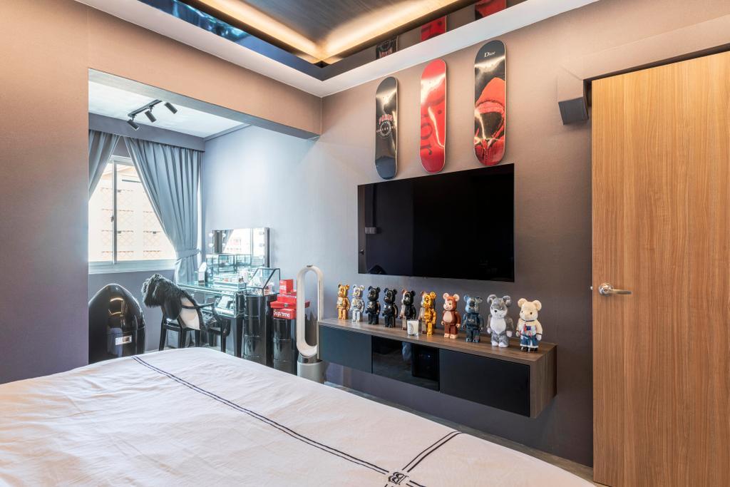 Contemporary, HDB, Bedroom, Bishan Street 23, Interior Designer, EA Interior Design