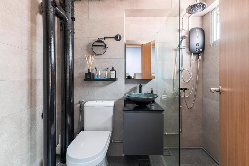 Contemporary, HDB, Bathroom, Bishan Street 23, Interior Designer, EA Interior Design