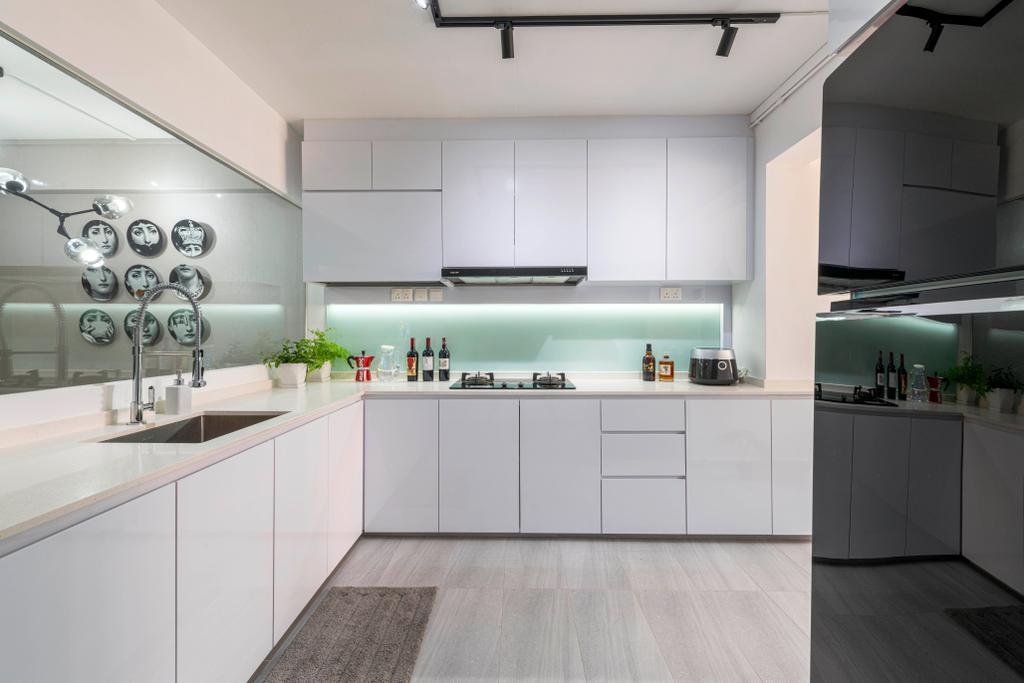 Contemporary, HDB, Kitchen, Bishan Street 23, Interior Designer, EA Interior Design