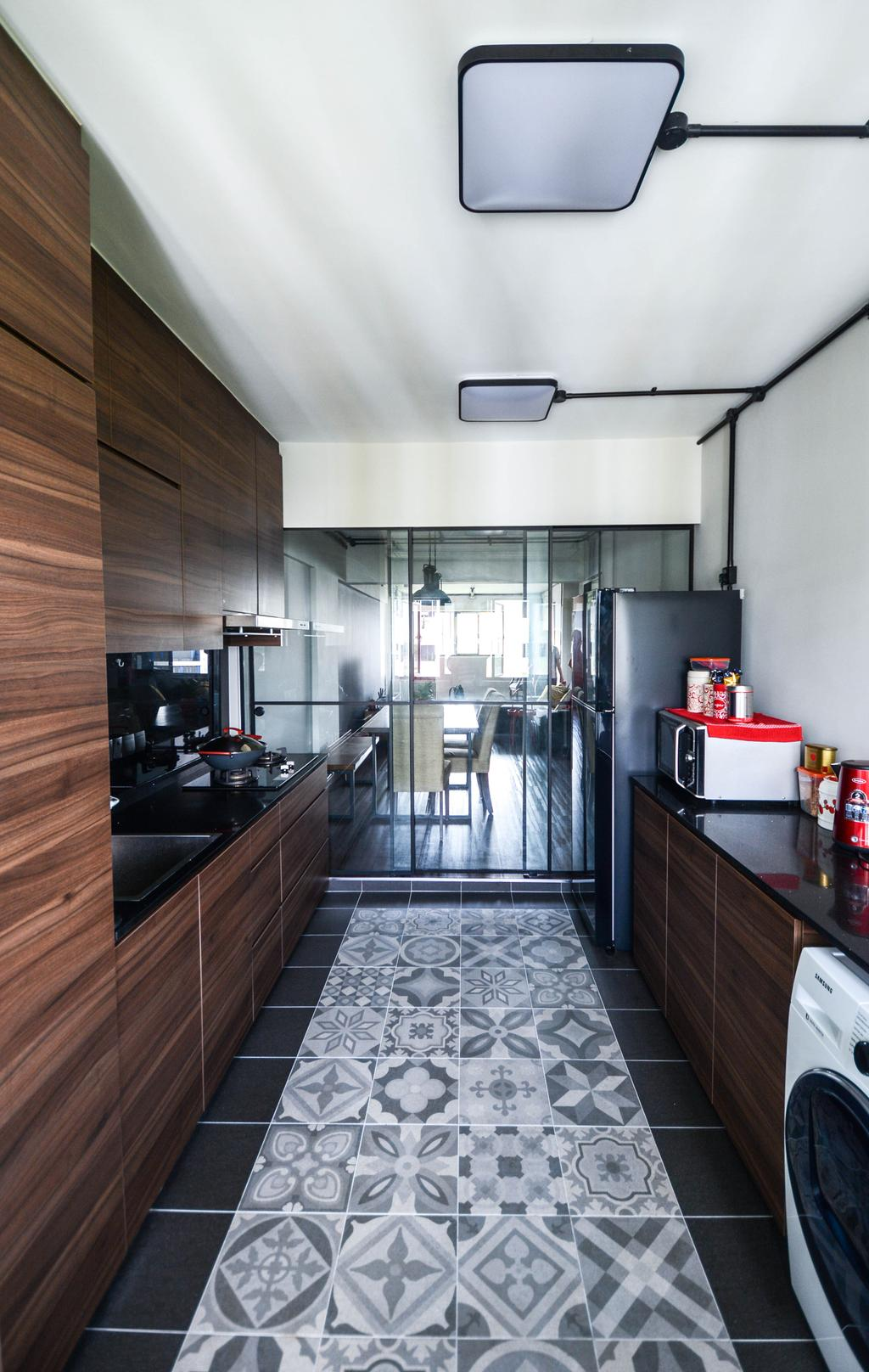 Contemporary, HDB, Kitchen, Bedok Reservoir, Interior Designer, The Roomakers