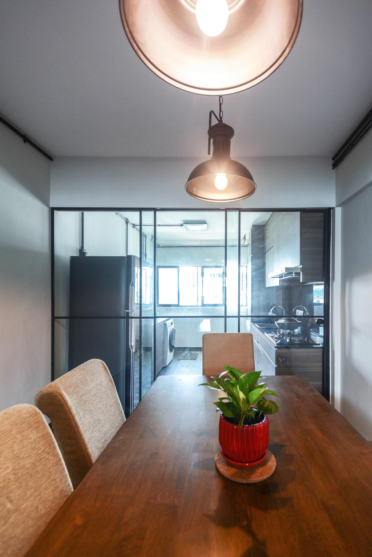 Contemporary, HDB, Dining Room, Bedok Reservoir, Interior Designer, The Roomakers