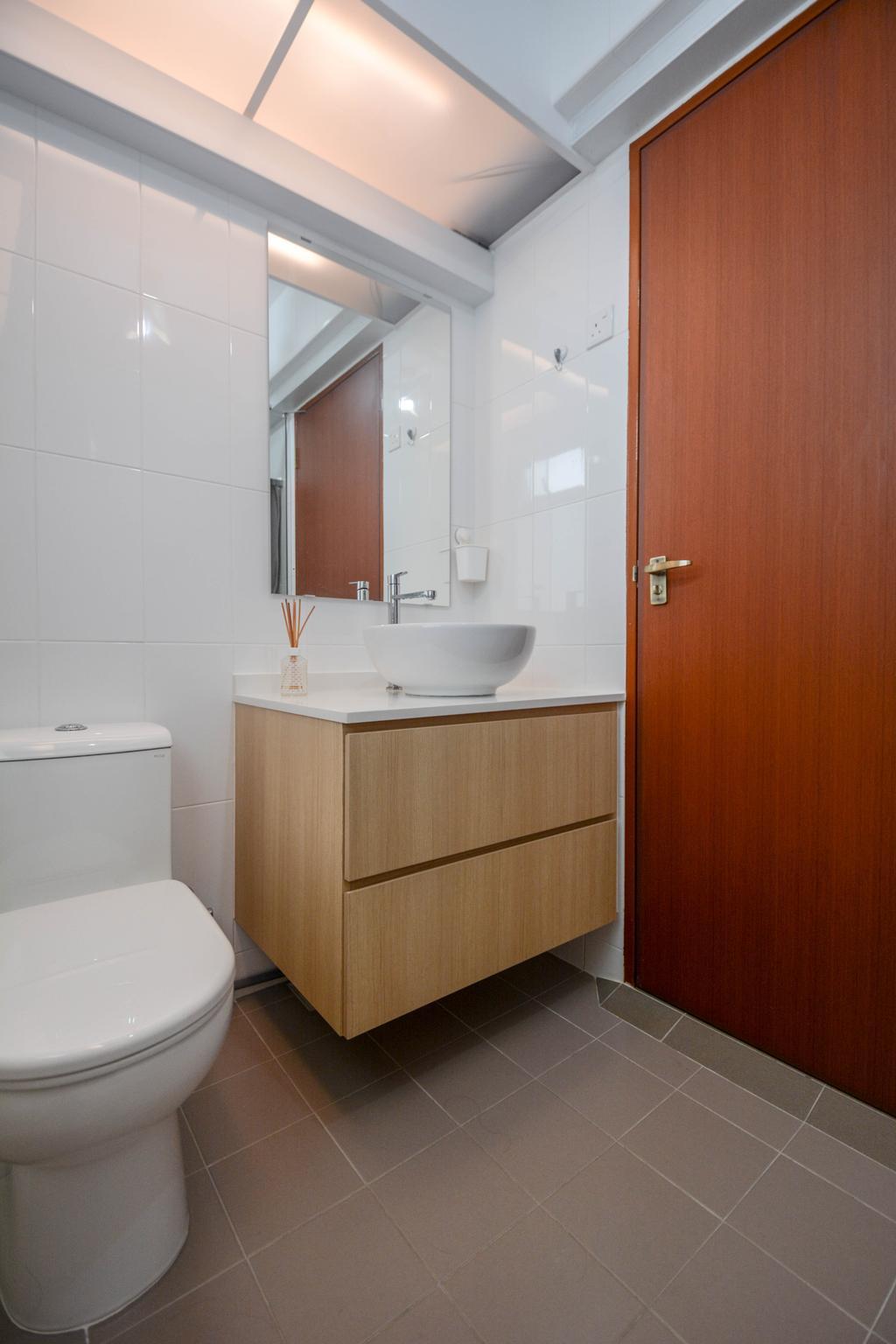 Scandinavian, HDB, Bathroom, Bukit Batok East, Interior Designer, The Roomakers