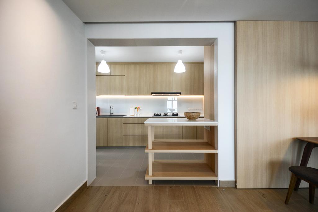Scandinavian, HDB, Kitchen, Bukit Batok East, Interior Designer, The Roomakers