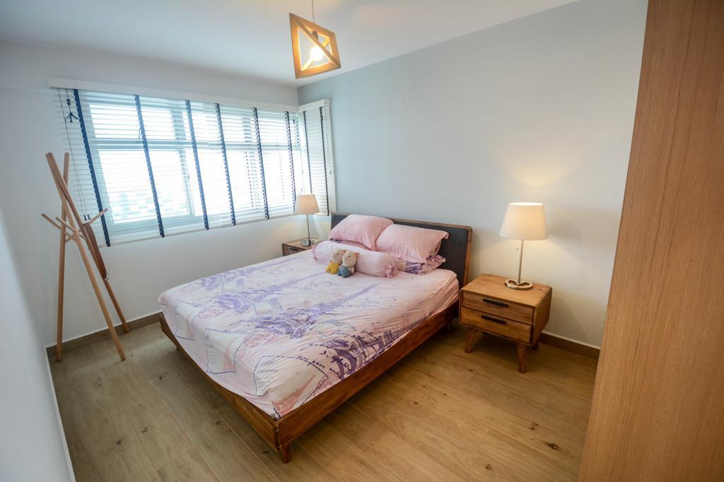 Scandinavian, HDB, Bedroom, Bukit Batok East, Interior Designer, The Roomakers