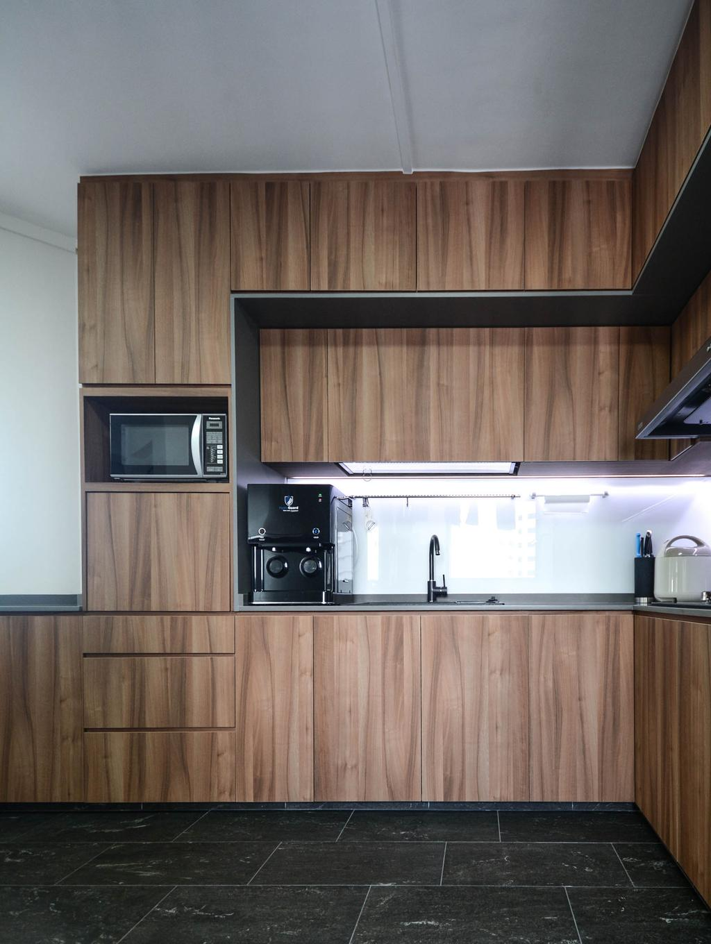 Contemporary, HDB, Kitchen, Bukit Batok Street 21, Interior Designer, The Roomakers