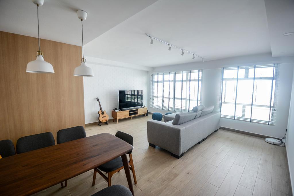 Scandinavian, HDB, Living Room, Bukit Batok East, Interior Designer, The Roomakers