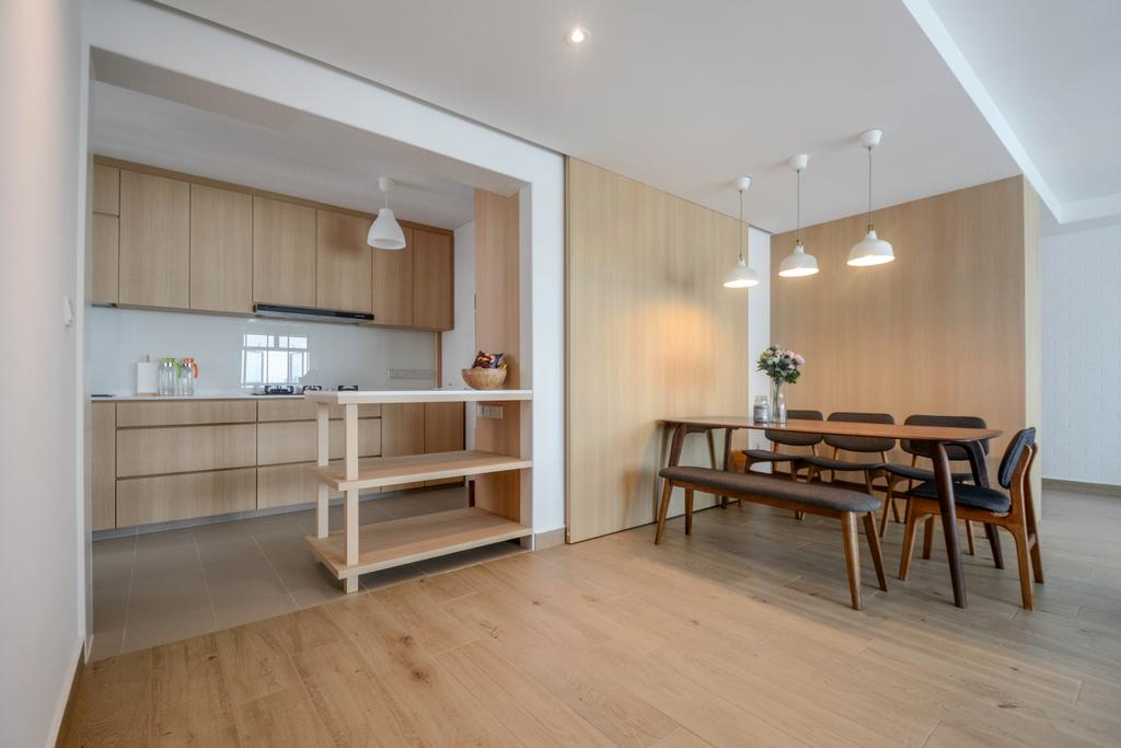 Scandinavian, HDB, Dining Room, Bukit Batok East, Interior Designer, The Roomakers